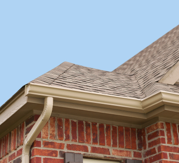 An asphalt shingle roof in Maryland